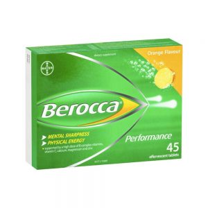 Berocca Energy Effervescent Tablets 45pk