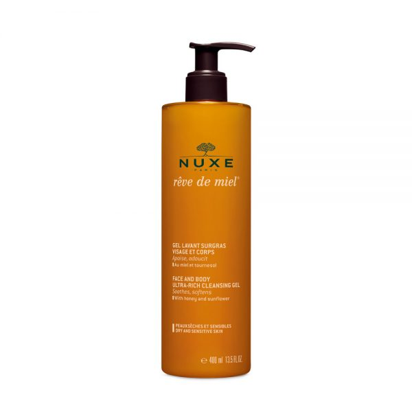 Nuxe Reve De Miel Face and Body Cleansing Gel